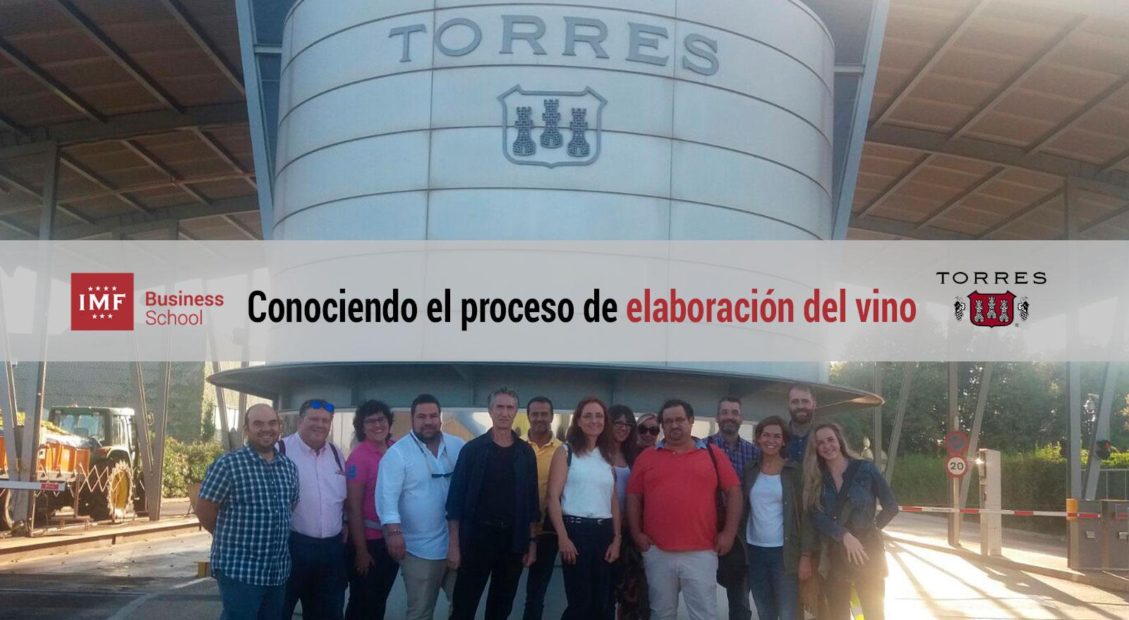 proceso-elaboracion-vino Alumnos de MBA de Enología viven la elaboración del vino