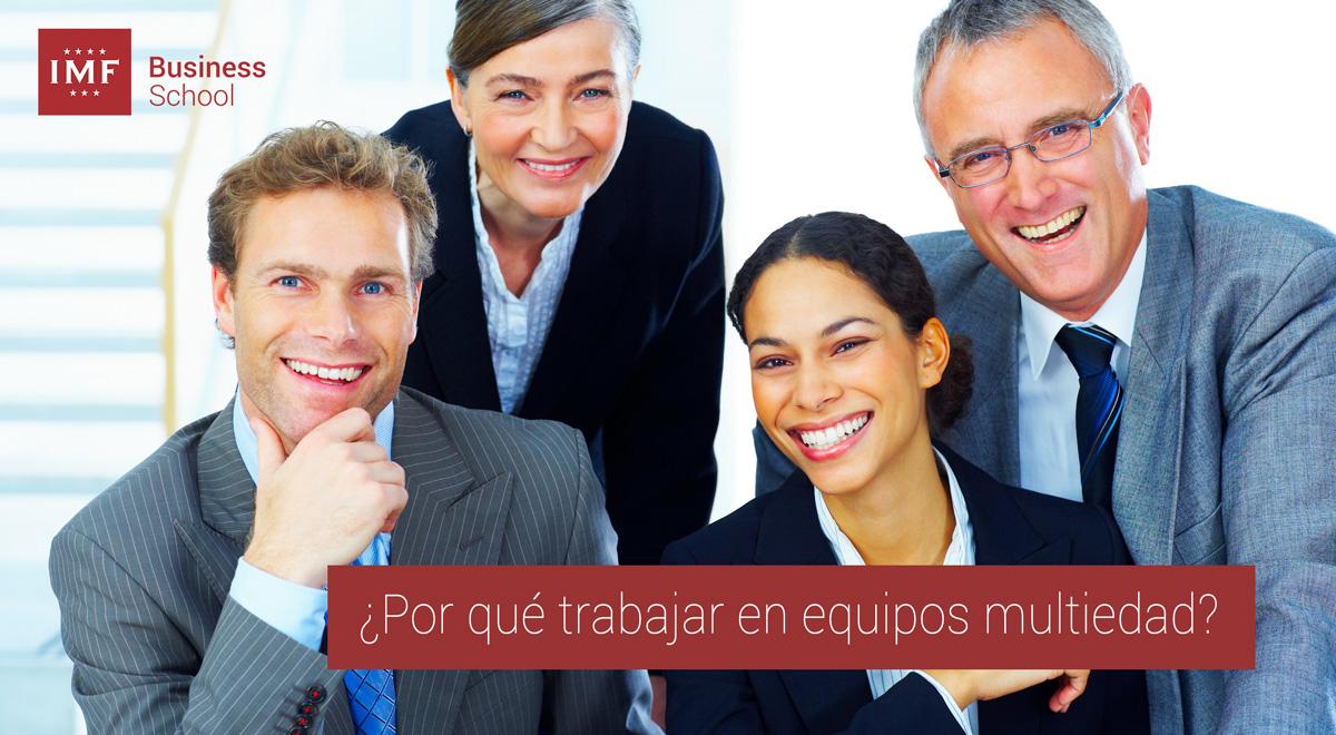 equipos-multiedad Nuevo liderazgo compartido: trabajar en equipos multiedad