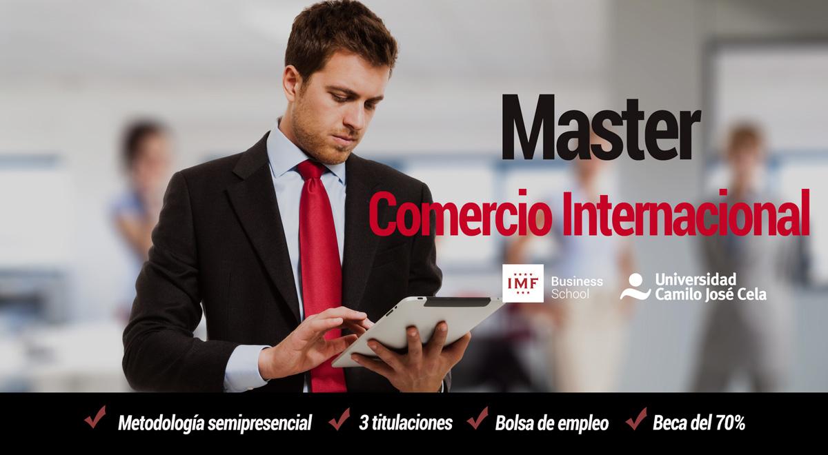Master en Comercio Internacional de IMF