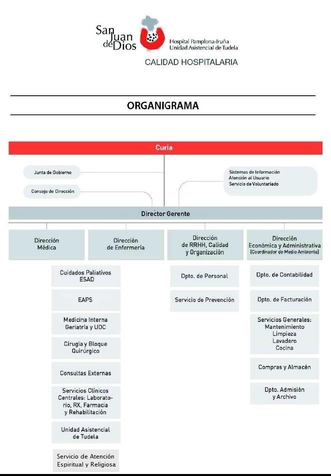 Tipos De Organigramas En Una Organización Sanitaria