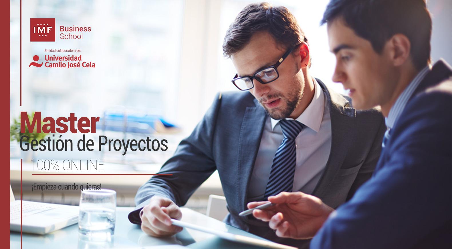 Master en Gestión de Proyectos Online - PMP
