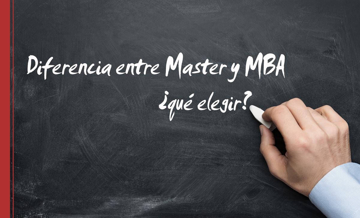 diferencia-master-mba Diferencia entre Master y MBA ¿qué elegir?