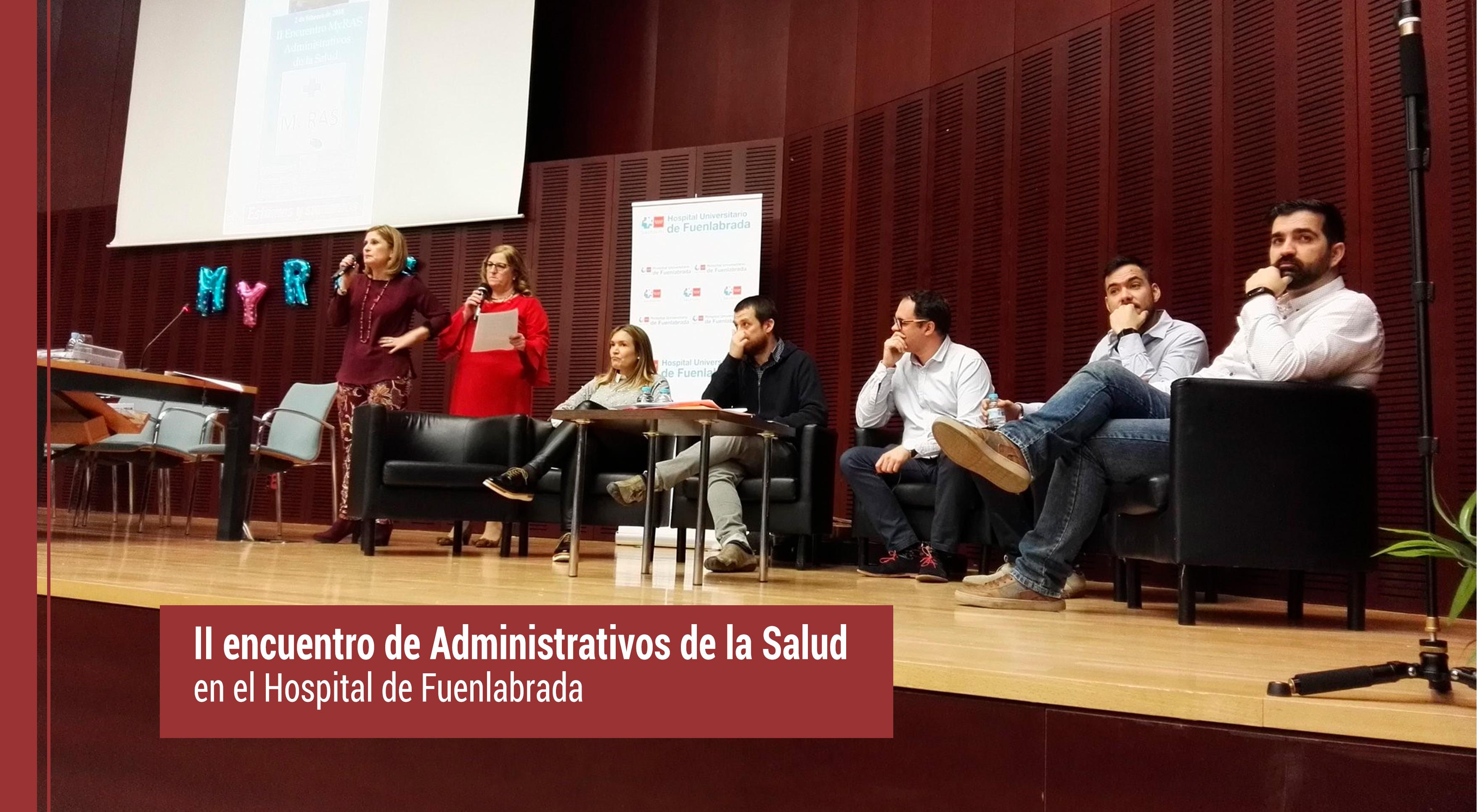 II encuentro de Administrativos de la Salud en el Hospital de Fuenlabrada