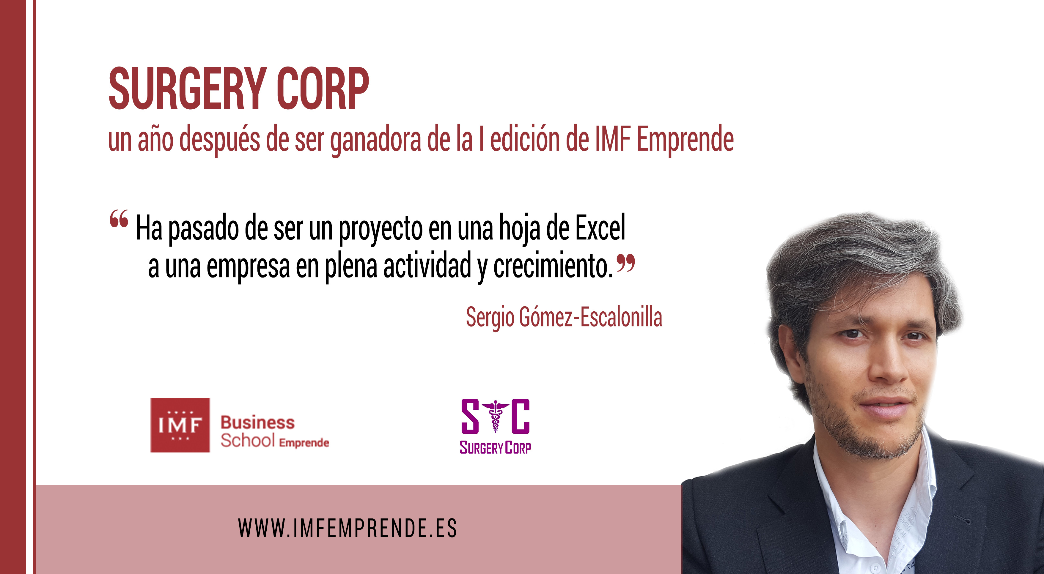 surgery-corp-ganador-imf-emprende-i-edicion Surgery Corp, un año después de ser ganador de la I edición de IMF Emprende