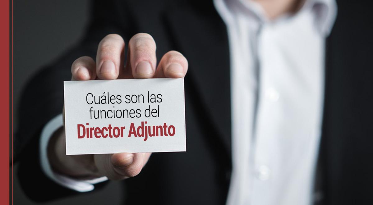 funciones-director-adjunto ¿Cuáles son las funciones de un Director Adjunto?