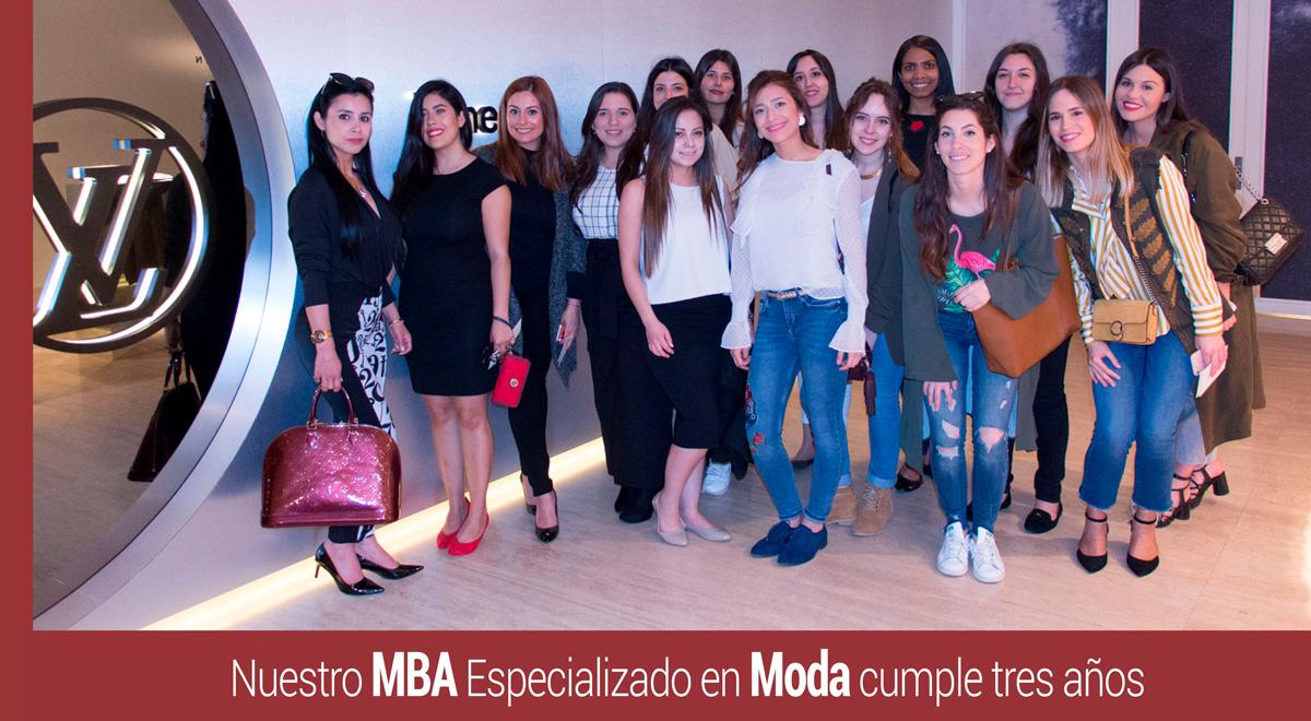 mba-moda-tres-anos-2 El MBA en Moda de IMF cumple tres años