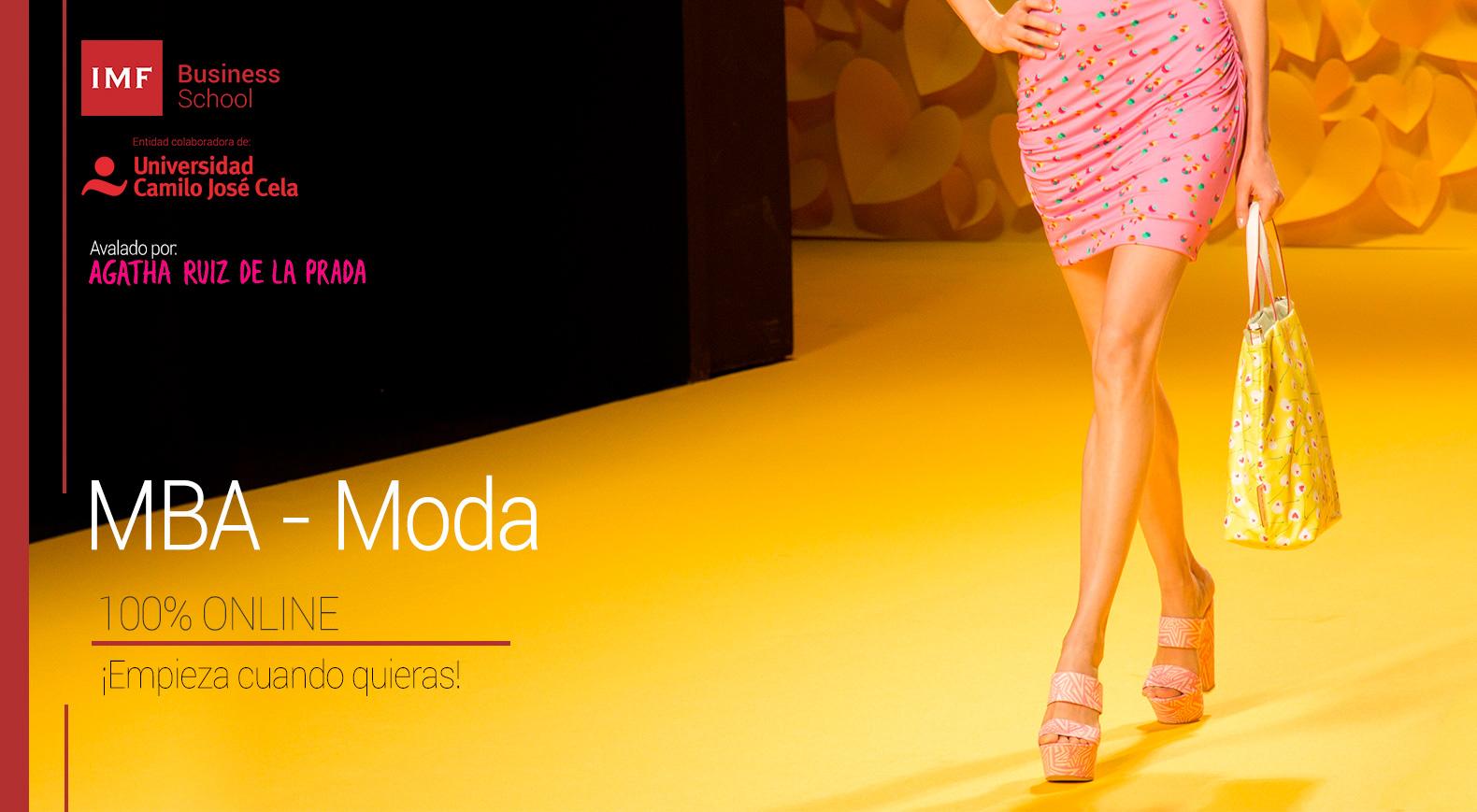 MBA Moda, master online