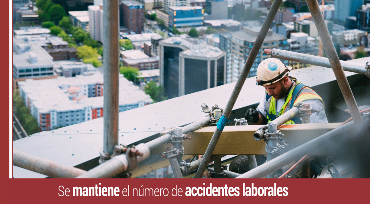 mantiene-numero-accidentes-laborales Se mantiene el número de accidentes laborales
