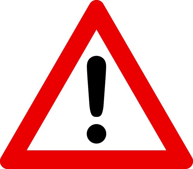 attention-38589_640 Aumenta el número de accidentes laborales