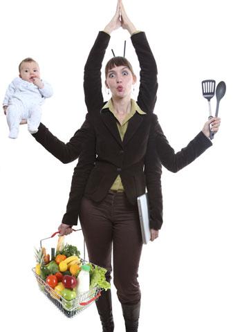 mujer-madreG Regreso al estrés: Técnicas de afrontamiento