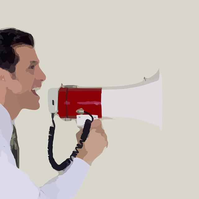 megaphone-297467_640 Estrés que favorece a la persona: eustrés