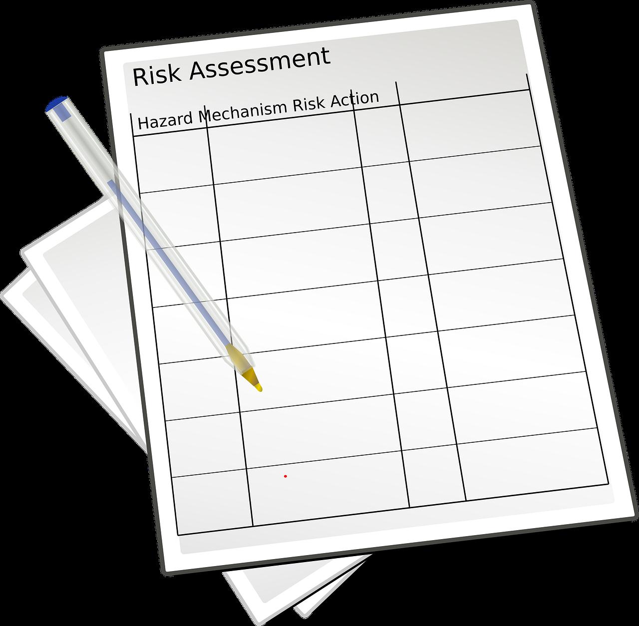 evaluciones-de-riesgos Lo que debes saber de las evaluaciones de riesgos