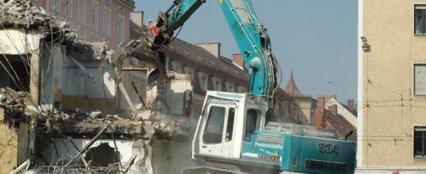 Prevenir riesgos en demolición de edicifios