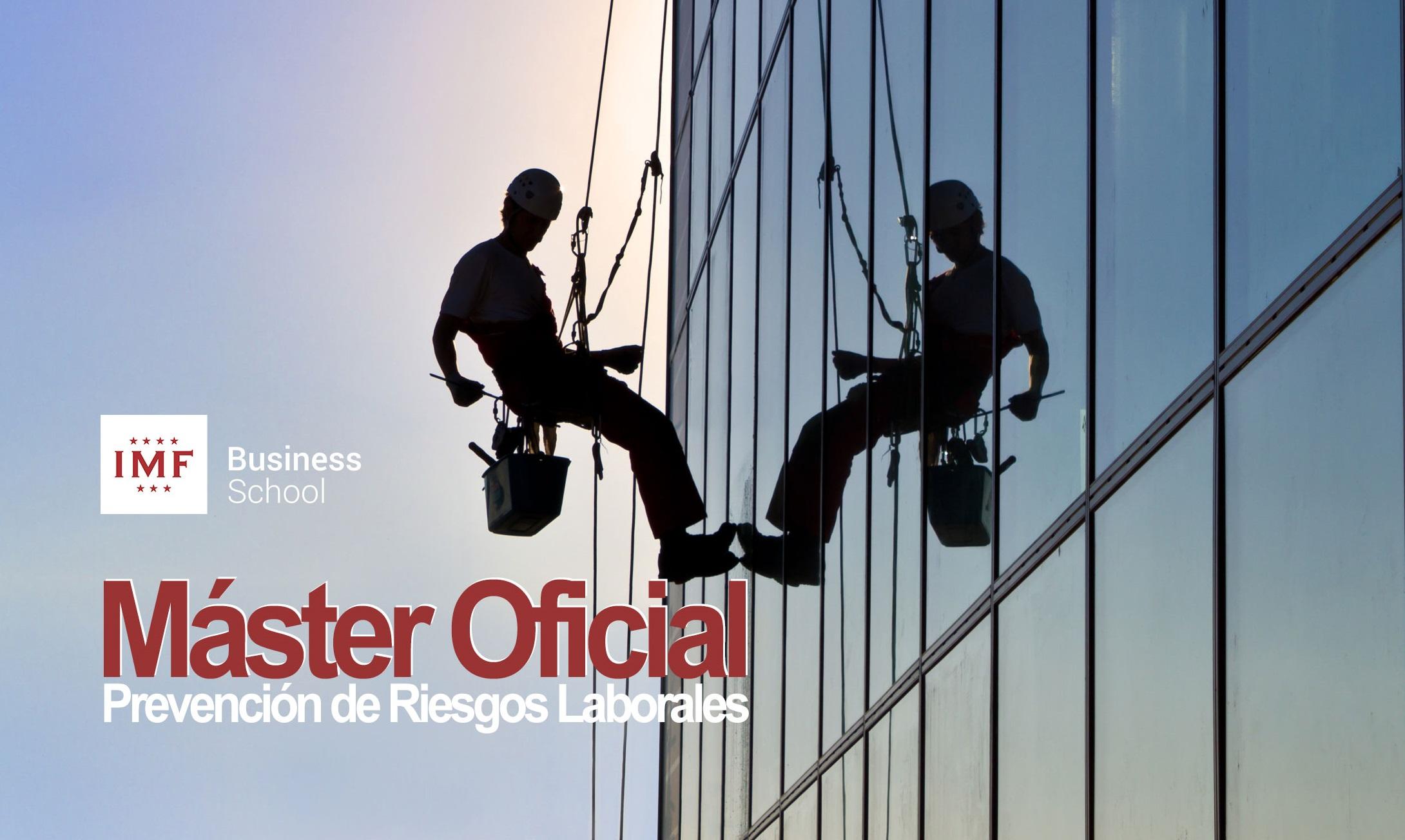 Master Oficial PRL - Prevención de Riesgos Laborales