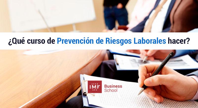 que-curso-prl ¿Qué curso de prevención de riesgos laborales debo realizar?
