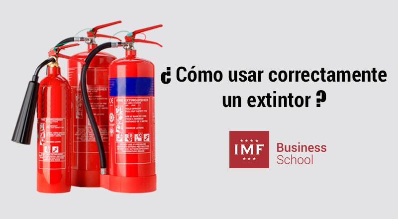 como-usar-extintor ¿Cómo usar correctamente un extintor?