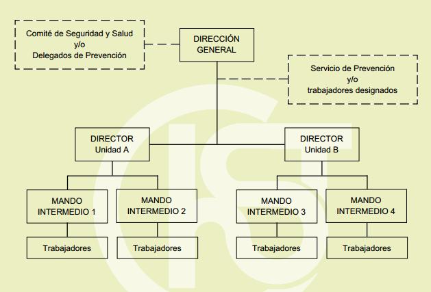 organigrama-perfecto-prevencion-de-riesgos Cuál es el organigrama perfecto del área de prevención  organigrama-prl Cuál es el organigrama perfecto del área de prevención
