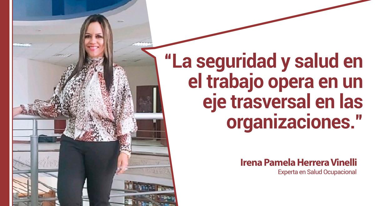 irenapostblog Belén Arcones entrevista a Irena Pamela, experta en Salud Ocupacional