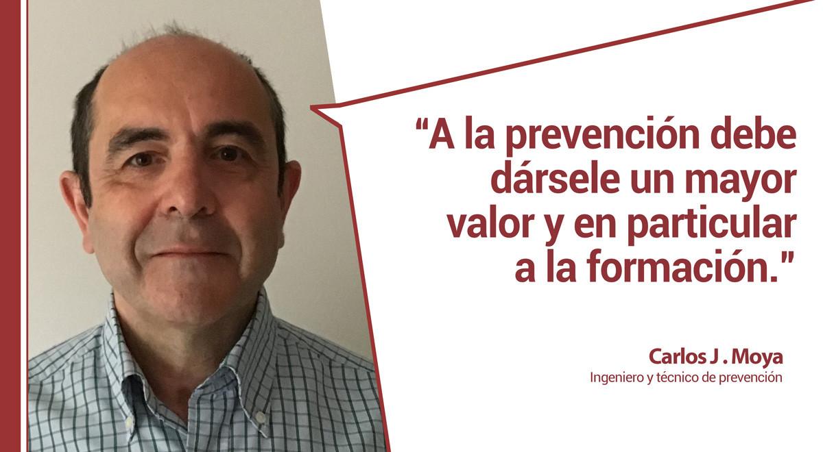 carlosjmoya Josefina del Prado entrevista a Carlos J. Moya, experto en prevención