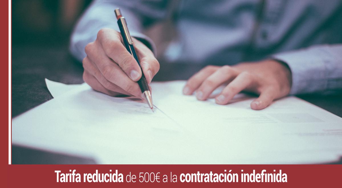 tarifa-plana-500-contrato-indefinido Tarifa reducida de 500€ a la contratación indefinida