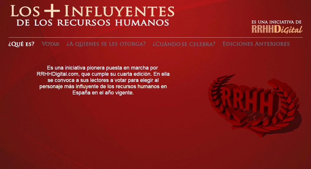 rrhhdigital Carlos Martínez, CEO de IMF, entre los más influyentes en Recursos Humanos