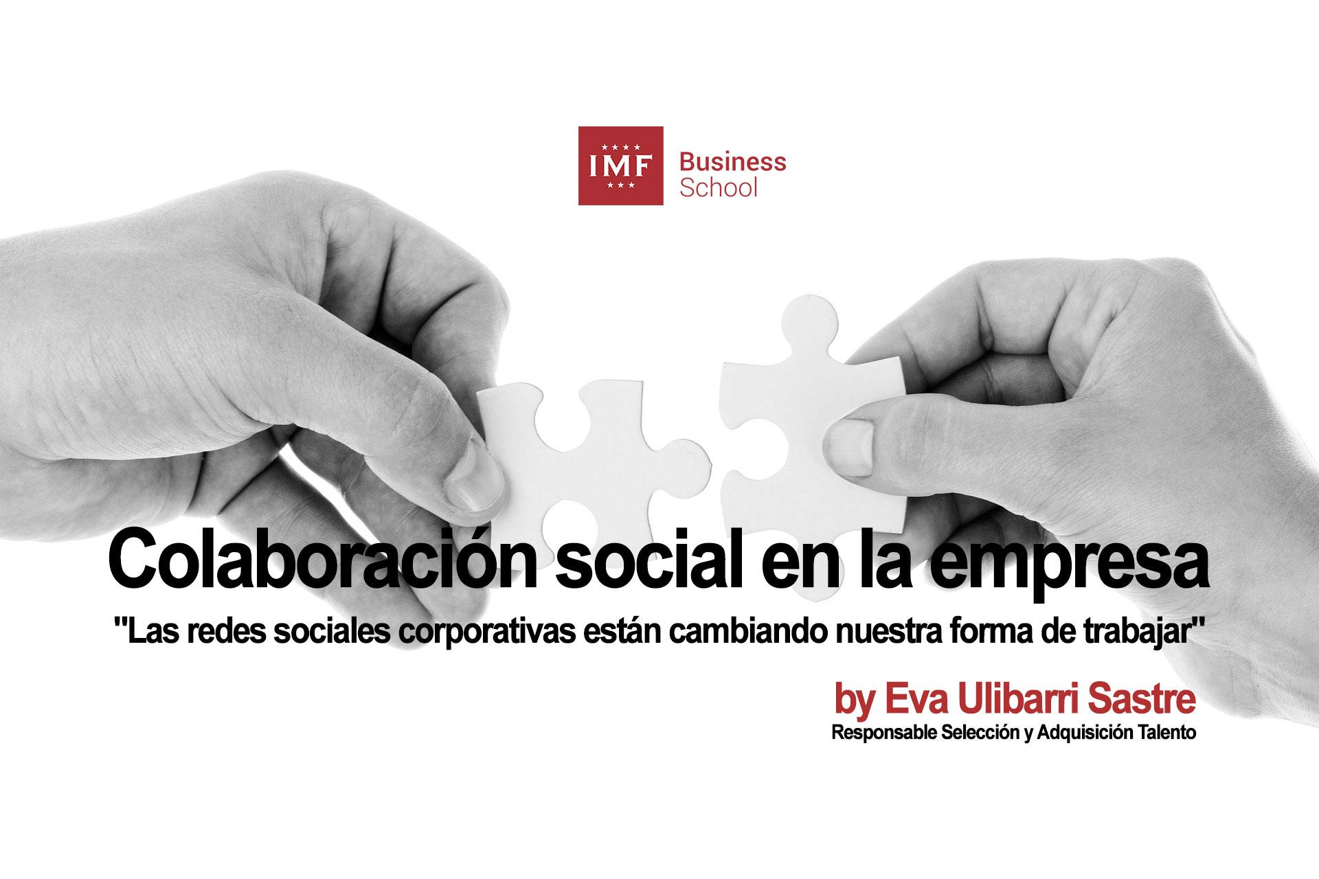 colaboracion-social Colaboración social en la empresa