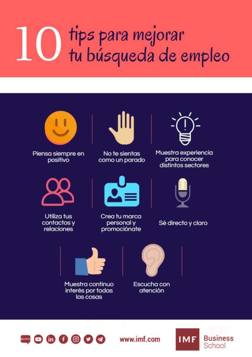 10-tips-mejorar-busqueda-empleo 10 tips para mejorar tu búsqueda de empleo