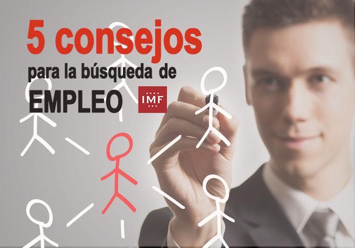 consejos-busqueda-empleo 5 consejos para la búsqueda de empleo