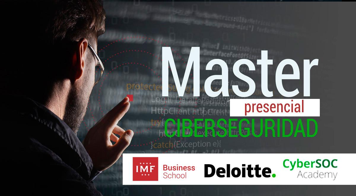Master Ciberseguridad Presencial con Deloitte