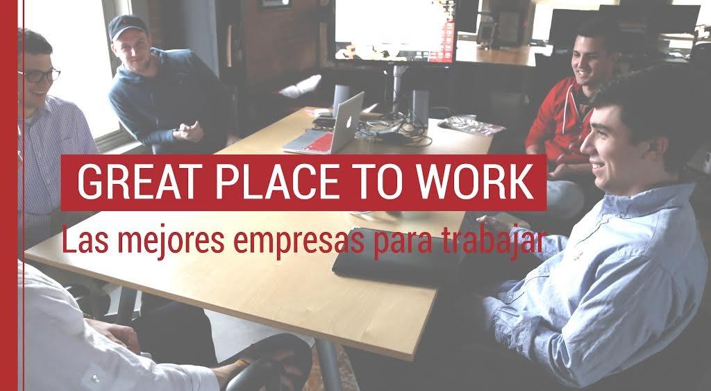 Las mejores empresas para trabajar en España; Great Place to Work