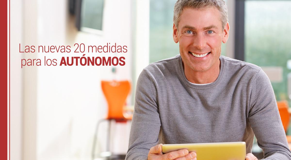 medidas-autonomos Las nuevas 20 medidas para los autónomos
