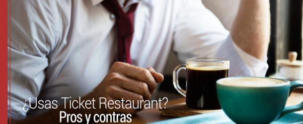 ticket-restaurant-610x250 Pros y contras del uso del Ticket Restaurant
