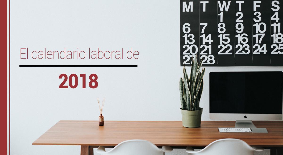 calendario-laboral-2018 El calendario laboral de 2018