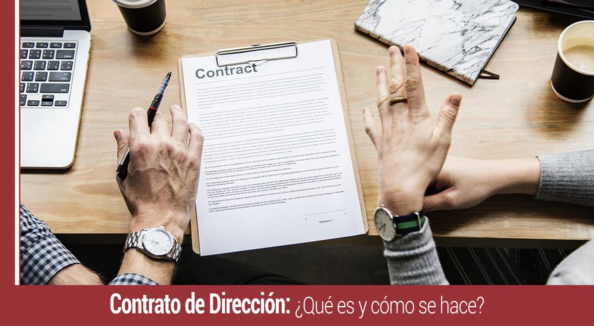 contrato-de-direccion-que-es-como-se-hace Qué es y cómo se hace un contrato de dirección