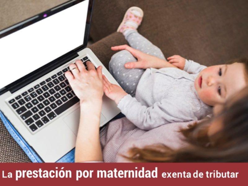 prestacion-maternidad-exenta-tributar-800x600 La prestación por maternidad exenta de tributar