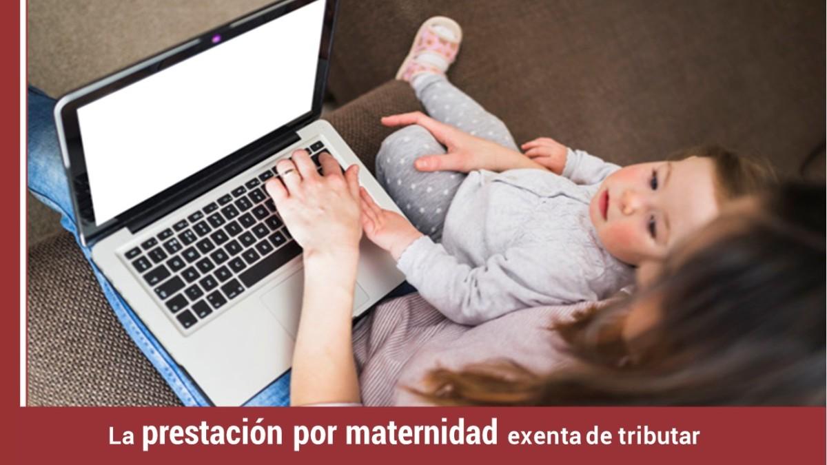 prestacion-maternidad-exenta-tributar La prestación por maternidad exenta de tributar