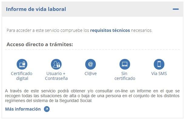 vida-laboral-internet Solicitar tu vida laboral a la Seguridad Social por Internet