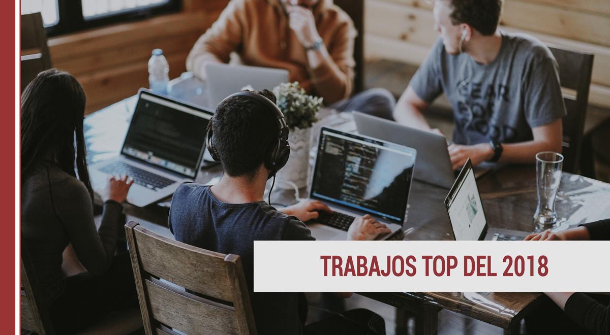 trabajo-2018 Los puestos de trabajo más buscados en 2018