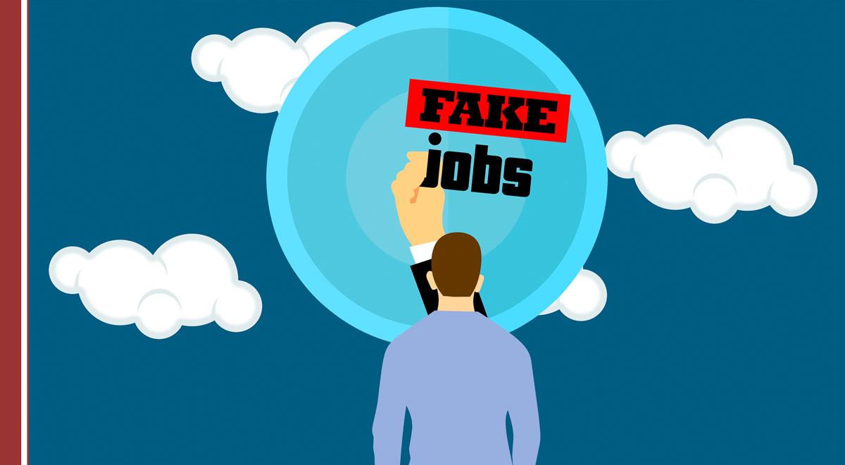 fake-jobs Ofertas falsas de trabajo o fake jobs: consejos para detectarlas y cómo actuar