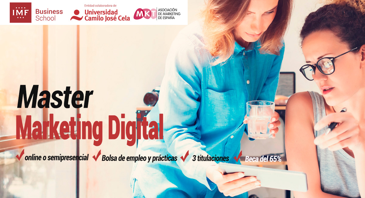 Master en Marketing Digital de IMF