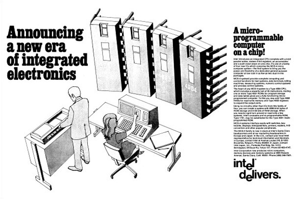 anuncio-primer-procesador-i-4004 45 años del invento que cambió nuestras vidas y nuestros trabajos