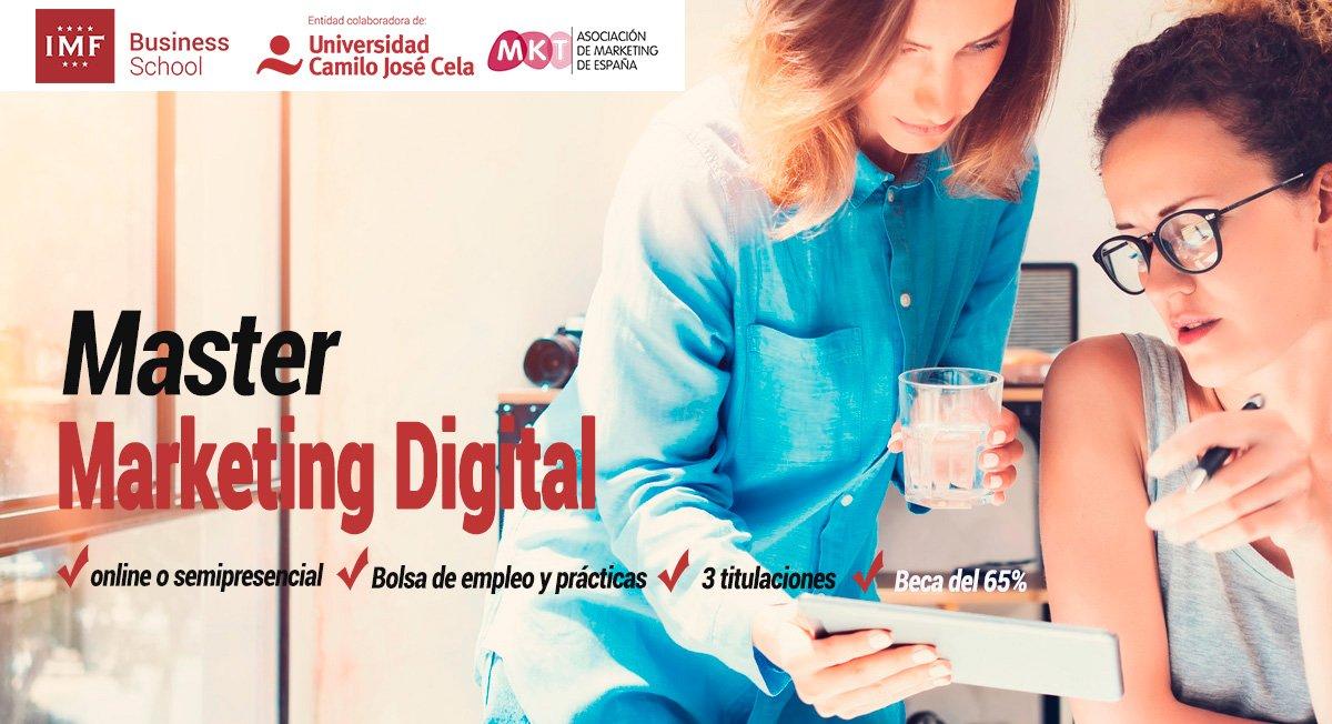 Conviértete en profesional del marketing digital y domina la comunicación online y la estrategia de redes sociales