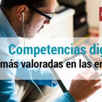 digitalizacion de empresas y las competencias digitales mas valoradas