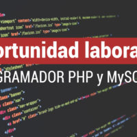 programador-PHP-MySQL-200x200 Oportunidad laboral: Programador WEB PHP y MySQL