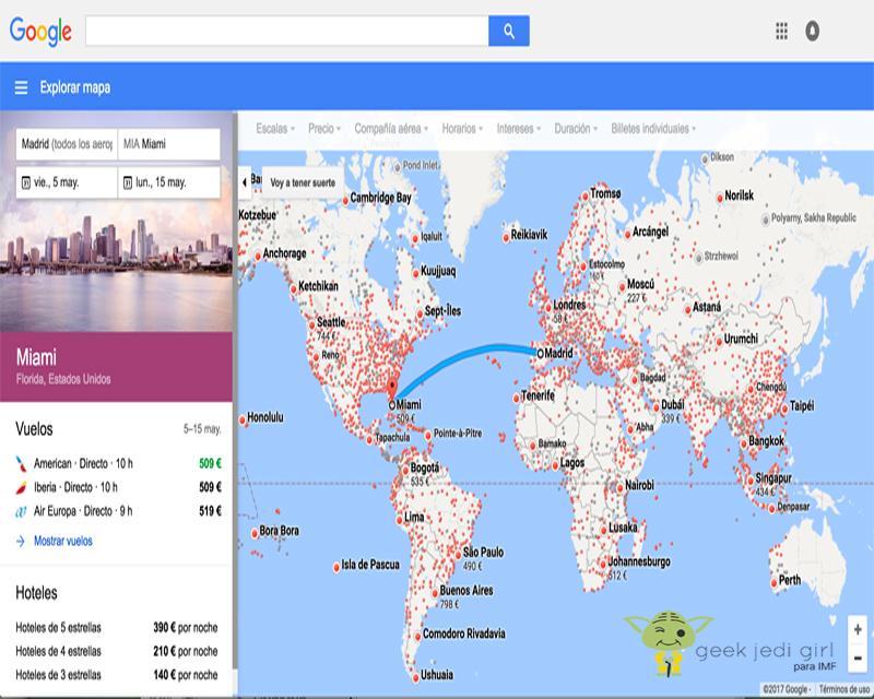vuelos-baratos-google-flights3 Cómo comprar vuelos baratos con estos trucos de Google Flights