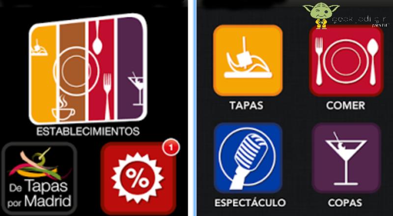 Tapas Las 6 mejores apps móviles para ir de tapas por Madrid