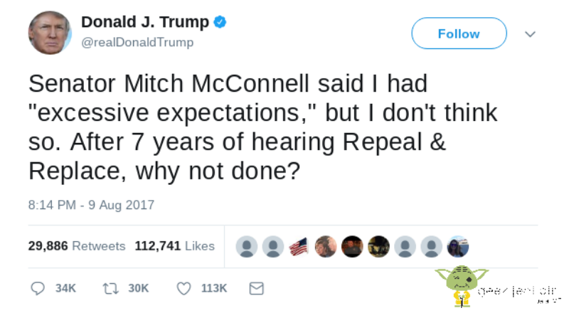 Tuit Twitter en la era de Trump
