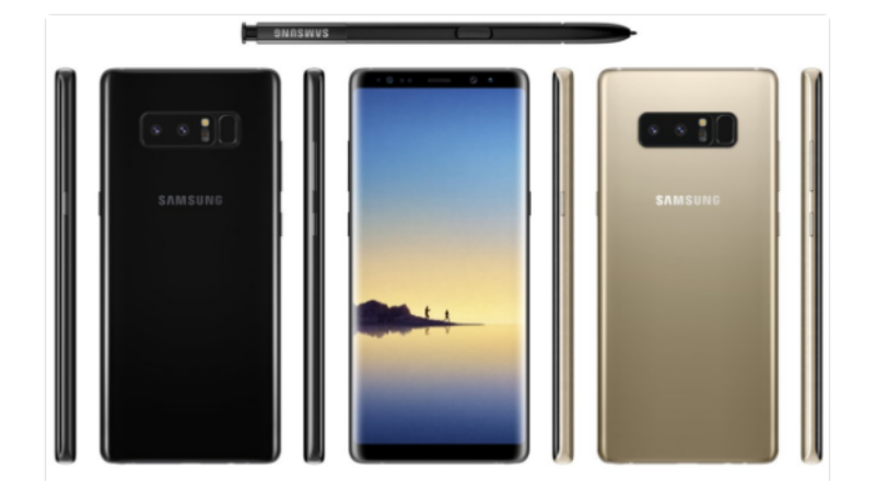 twitter Las primeras imágenes del Samsung Galaxy Note 8