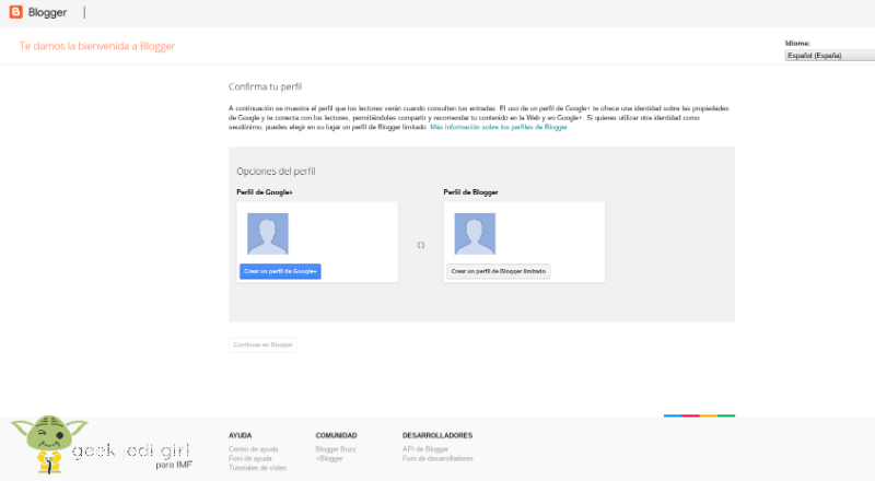 Google-blog Cómo crear un blog con Google y gratis