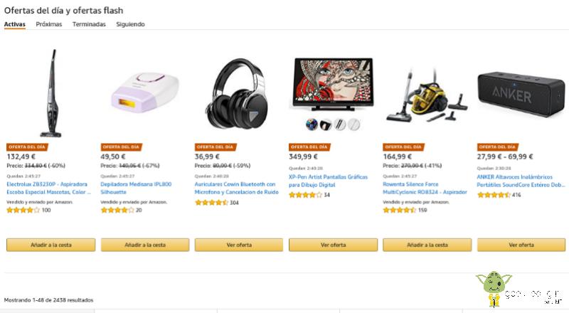 Ofertas-Amazon Cómo encontrar las mejores ofertas en Amazon España